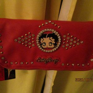 Betty Boop Red Purse NWT